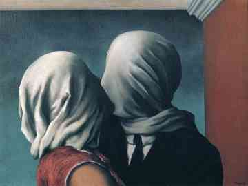 Rene Magritte The Lovers